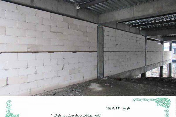 ۱۶۷٫پروژه مجتمع بزرگ طاقه فروشان قماش مشهد